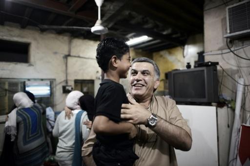 Le militant de Bahreïn Nabil Rajab citoyen d'honneur de Paris