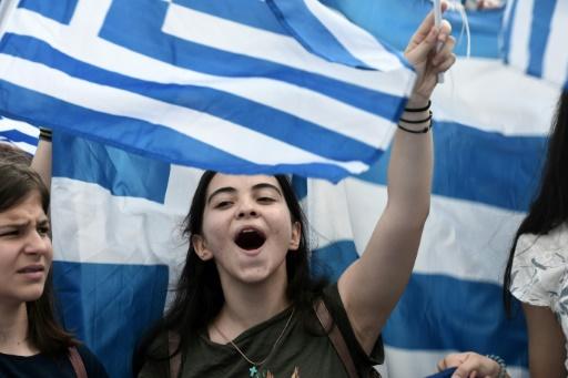 Grèce : des milliers de manifestants contre les projets de nom de la Macédoine