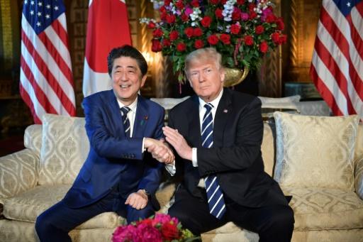 Trump reçoit Abe à cinq jours de son sommet historique avec Kim