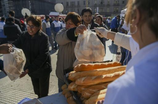 Argentine: des boulangers manifestent contre l'explosion du prix de la farine