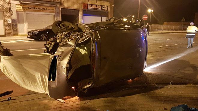 Accident mortel à Gilly: une collision fait un mort