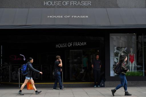 House of Fraser: la déroute des commerces britanniques s'amplifie