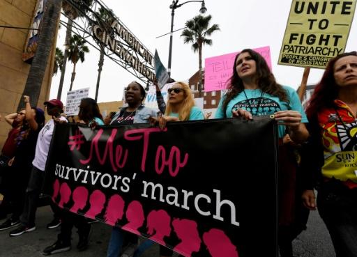 Huit mois après, le mouvement #MeToo omniprésent dans le débat américain