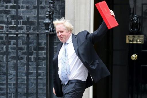 Boris Johnson prévient contre un risque d'