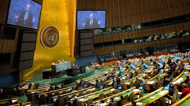 Élection de cinq nouveaux membres non permanents du Conseil de sécurité — ONU