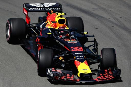 Formule 1: Verstappen le plus rapide de la 1re séance d'essais libres au Canada