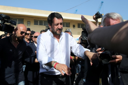 Migrants: Matteo Salvini accuse Malte de ne pas prendre sa part