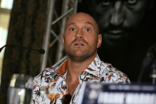 Boxe: le grand retour du fantasque Tyson Fury