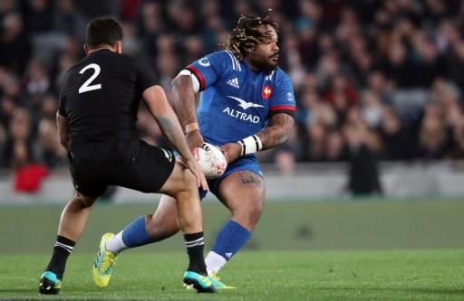 Tournée: le XV de France mène à la mi-temps en Nouvelle-Zélande 11 à 8