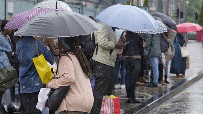 Prévisions du week-end: la chaleur perdure, des averses orageuses sont attendues