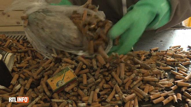 En France, une entreprise se lance dans le recyclage des mégots et les transforme en objets du quotidien