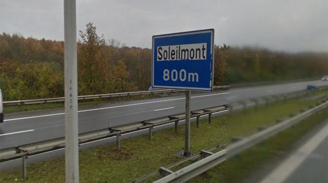 Grave accident hier soir à Soleilmont: une automobiliste décède sur le ring de Charleroi après un malaise