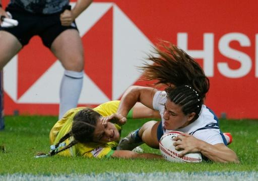 Circuit mondial de rugby à VII: les Françaises y prennent goût