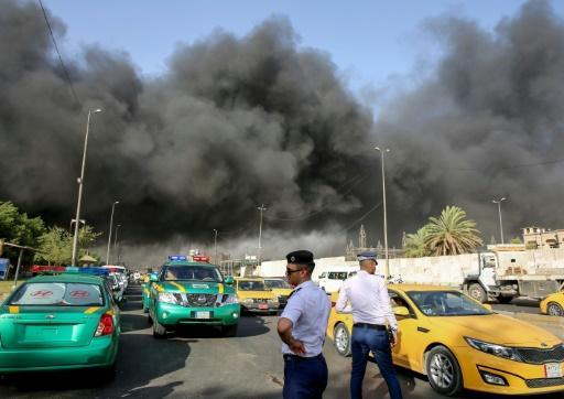 Irak: mystérieux incendie dans un dépôt de bulletins de vote avant un décompte