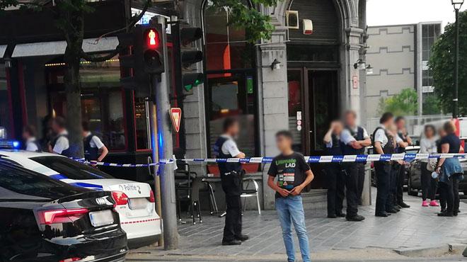 Tentative de meurtre dans un café de Saint-Gilles: l'auteur recherché