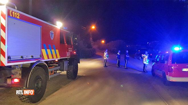 Hélicoptère, chiens policiers et de nombreux agents déployés au sud de Charleroi: mais où est passé le paramoteur tant recherché?