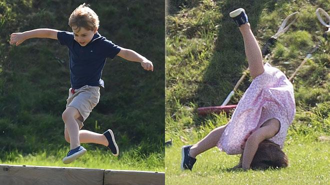 Charlotte et George : les petits princes déchaînés! (photos)