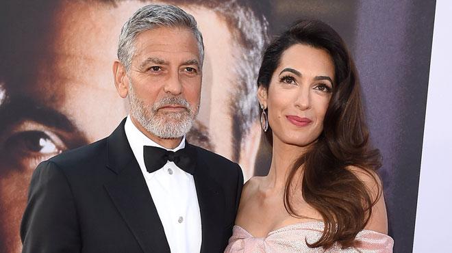 Sortez les mouchoirs : voici la magnifique déclaration d'amour d'Amal à George Clooney (vidéo)