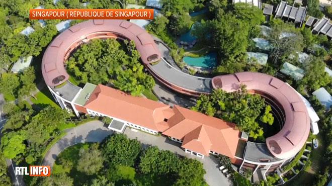 L'île touristique de Sentosa à Singapour choisie pour le sommet Donald Trump- KIm Jung Un: