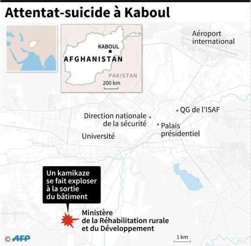 Kaboul: un attentat, revendiqué par l'EI, fait au moins 13 morts