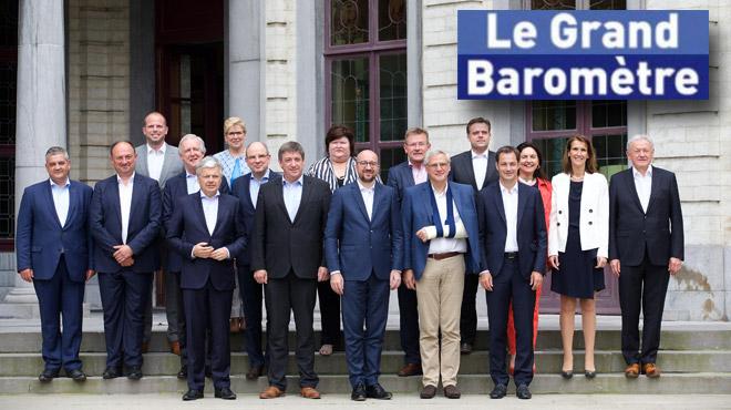 Grand Baromètre: les Belges ne souhaitent pas la même majorité fédérale après les élections de 2019