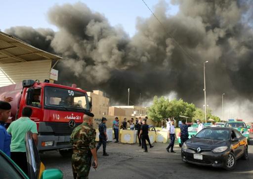 Irak: quatre suspects arrêtés après l'incendie d'un dépôt de bulletins de vote