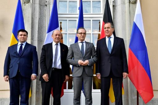 Ukraine: Paris et Berlin veulent croire en une reprise du processus de paix
