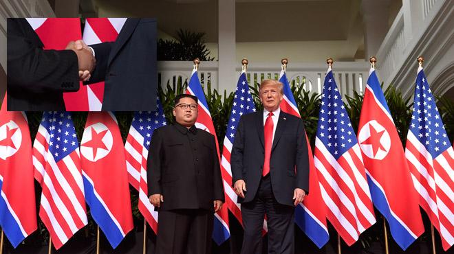 Rencontre historique entre Donald Trump et Kim Jong Un (vidéos): la dénucléarisation va commencer