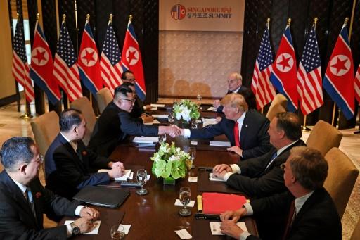 Porc croustillant et tarte tropézienne au menu pour Kim et Trump
