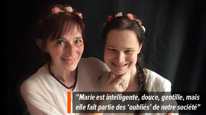 Marie, autiste de 23 ans, vit isolée et oubliée selon sa maman: