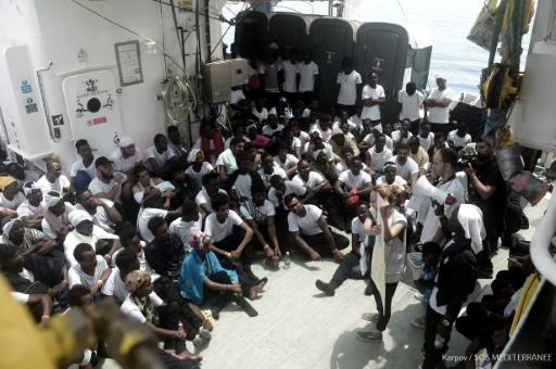 Migrants: Rome refuse de recevoir des