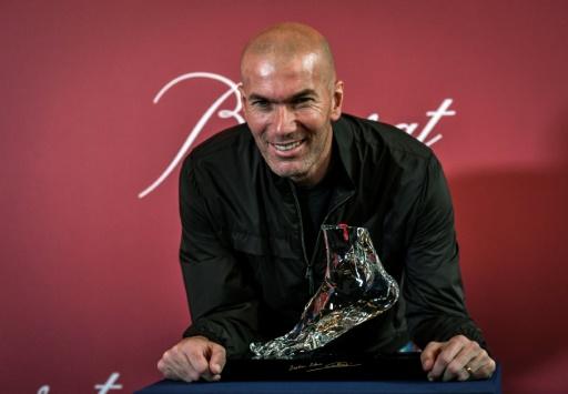 Le pied gauche de Zidane en cristal au profit d'ELA