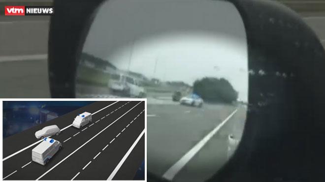Véhicules de police entrés en collision près de Mouscron: le fuyard, toujours en cavale, s'était illustré les jours précédents