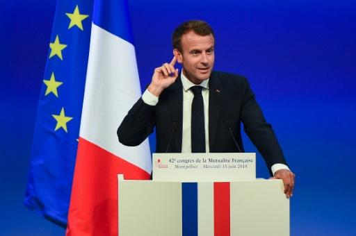 Macron annonce les grandes lignes de sa