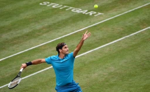 Tennis: retour gagnant pour Federer à Stuttgart