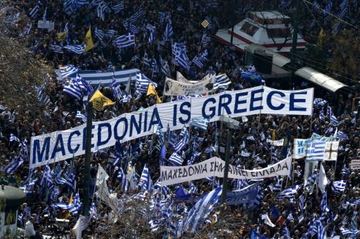 L'accord sur le nom de la Macédoine indigne la droite à Athènes et Skopje