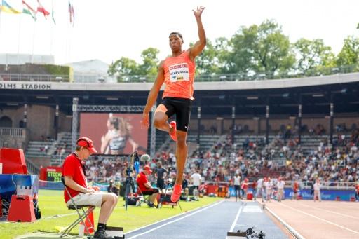 Athlétisme: un saut à 8,66 m pour le Cubain Echevarria (MPM) à Ostrava