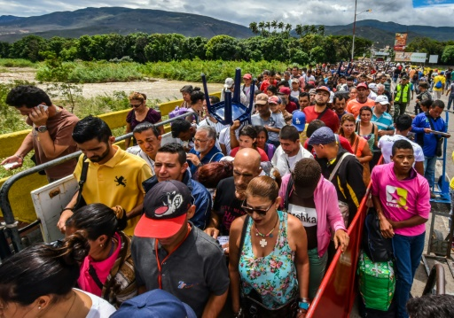 Plus d'un million de migrants du Venezuela vers la Colombie en 16 mois