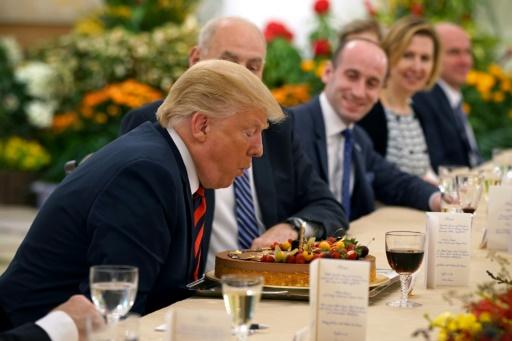 Etats-Unis: Donald Trump a 72 ans