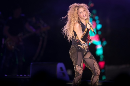 Shakira redonne de la voix à Bercy