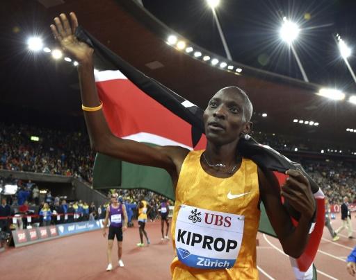 Athlétisme: Kiprop renonce à se défendre des accusations de dopage