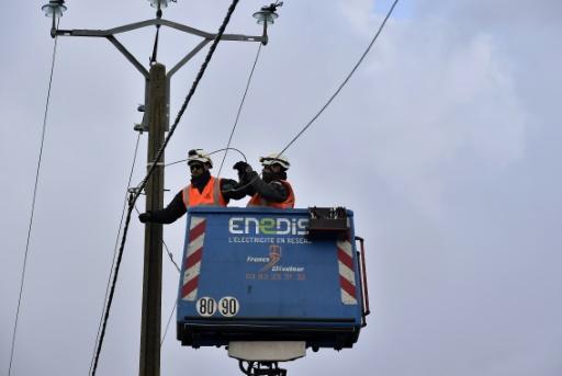 Energie: 150 sites Enedis et GRDF occupés ou en grève