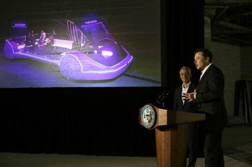 Le train futuriste à très grande vitesse d'Elon Musk arrive à Chicago