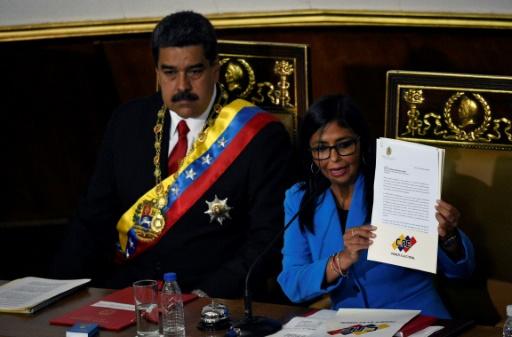 Venezuela: Maduro nomme la cheffe de l'Assemblée constituante à la vice-présidence