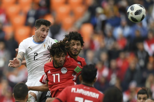 Mondial-2018: L'Uruguay arrache la victoire contre l'Egypte (1-0)