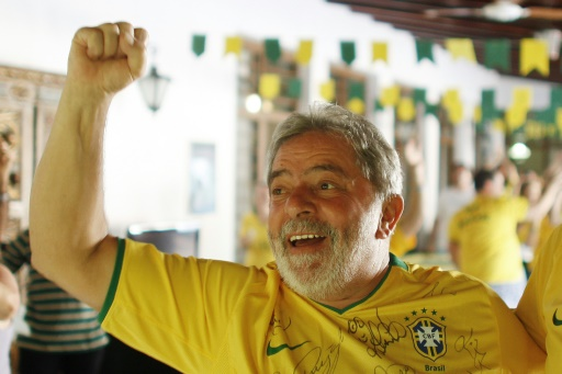 Mondial-2018: l'ex-président brésilien Lula consultant sportif depuis sa prison