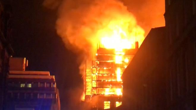 En Ecosse, l'une des meilleures écoles d'art du monde ravagée par un incendie
