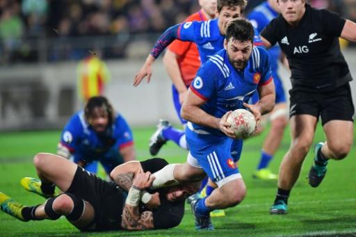 Rugby: le XV de France de nouveau battu par la Nouvelle-Zélande, 26 à 13