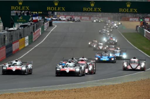24 Heures du Mans: la Toyota N.7 a pris la tête au premier tour