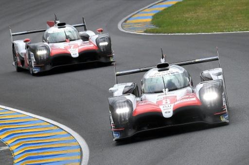 24 Heures du Mans: les Toyota solidement en tête après deux heures
